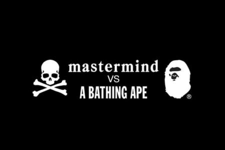 mastermind(マスターマインド) VS A BATHING APE(ア ベイシング エイプ)8/18(土)発売!