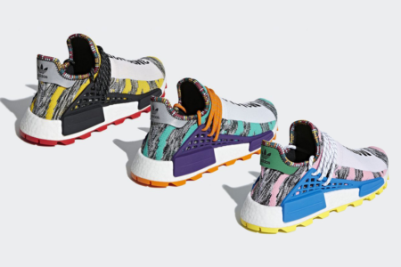 Pharrell Williams x adidas NMD Afro Pack 8/18(土) 発売!