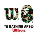 A BATHING APE®️ × Wilson によるコラボコレクションが近日発売予定