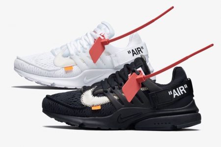 Off-White™ Tokyo にて Off-White™ × NIKE AIR PRESTO 2型のWEB抽選が開始