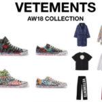 RESTIR が Vetements AW18コレクションを8月10日(金)発売!