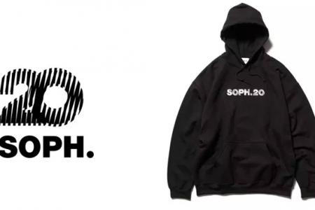 "SOPH.が設立20周年を記念した新ブランド""SOPH.20″を始動"