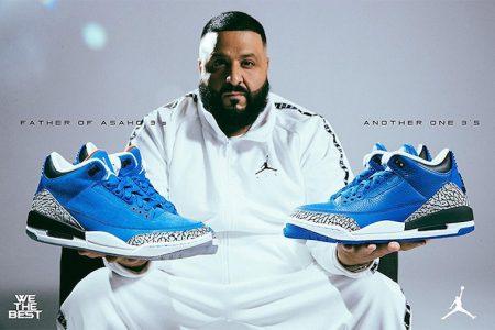 DJ Khaled × AIR JORDAN 3 による新色2型が当たるキャンペーン開始
