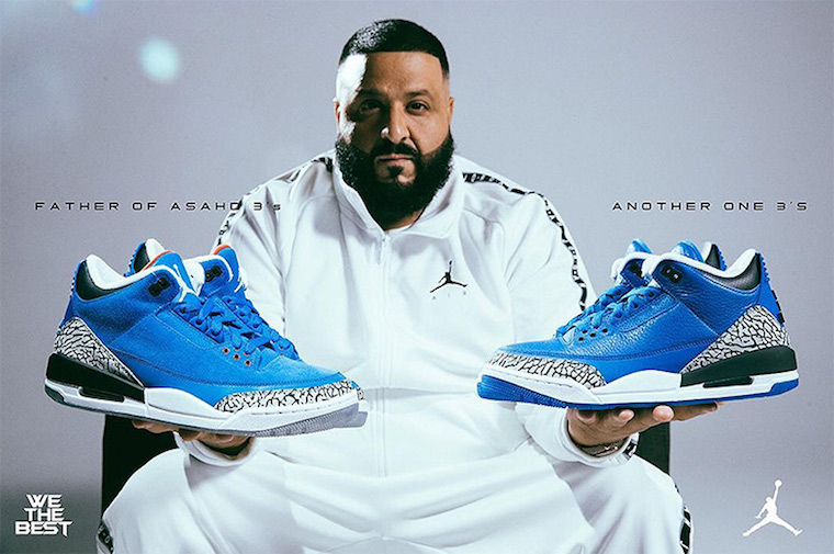 DJ Khaled × AIR JORDAN 3 による新色2型が