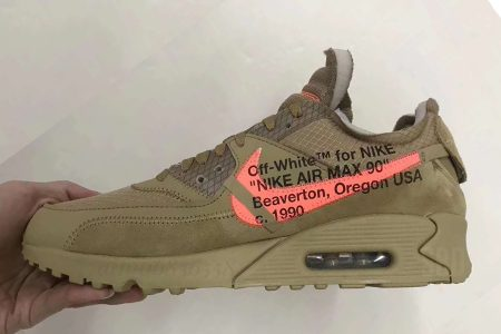 "Off-White™ × NIKE AIR MAX 90 ""DESERT ORE"" & ""BLACK"" 2月9日(土)発売"