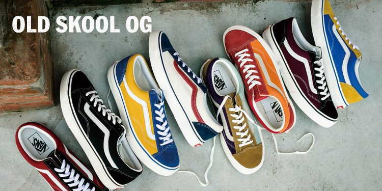 VANS OLD SKOOL OG 本日発売