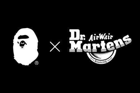 A BATHING APE® × Dr.Martens コラボブーツ発売