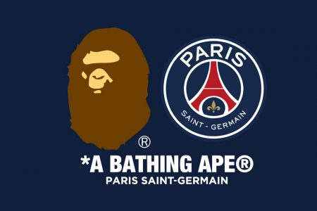 A BATHING APE® と PSG コラボコレクション発売