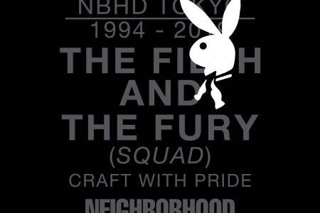 NEIGHBORHOOD × PLAYBOY コラボアイテム発売へ