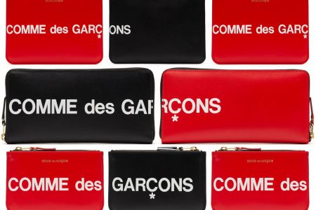 COMME des GARÇONSより新作小物が4月6日(土)登場
