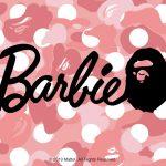 """A BATHING APE × Barbie  """"BAPE® x Barbie™""""が発売"""