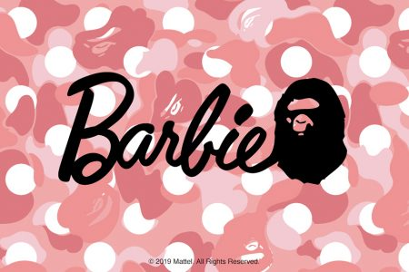 "A BATHING APE × Barbie  ""BAPE® x Barbie™""が発売"
