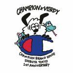 CHAMPION BRAND HOUSE SHIBUYA TOKYO × VERDY
