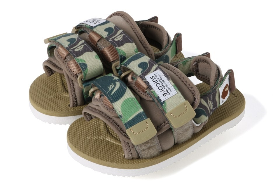 A BATHING APE x SUICOKE