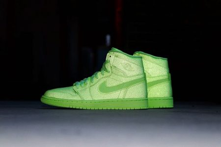"NIKE AIR JORDAN 1 HIGH PREMIUM WMNS ""BARELY VOLT"" 7/1(月)発売"