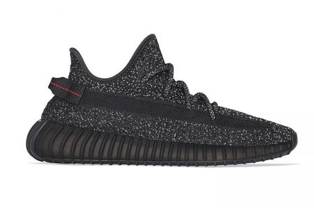 "【販売店追加】6/6(木)発売 YEEZY BOOST 350V2 ""BLACK REFLECTIVE"""
