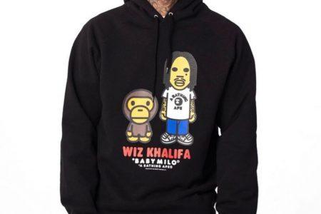 A BATHING APE® × Wiz Khalifaによるコラボコレクションが7/27(土)発売