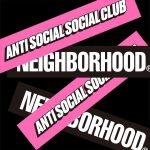 Anti Social Social Club × NEIGHBORHOOD® 最新コラボが7/27(土)発売