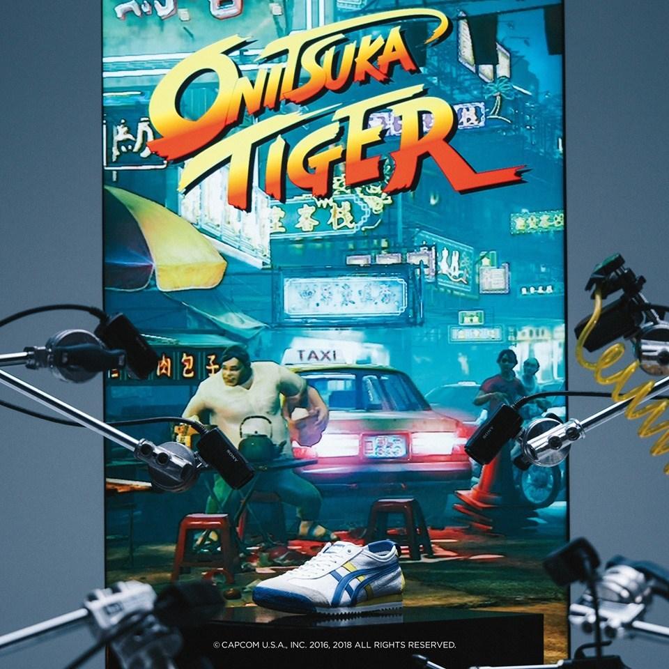 Onitsuka Tiger × ストリートファイター