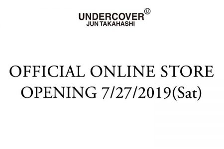 UNDERCOVERのオフィシャルオンラインストアが7/27日(土)にOPEN