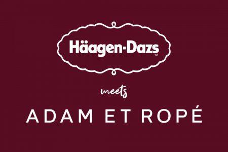 ADAM ET ROPÉ × Häagen-Dazs コラボコレクションが展開中