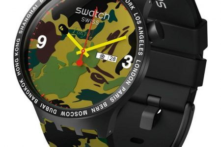 Swatch × A BATHING APE コラボ限定ウォッチ再販