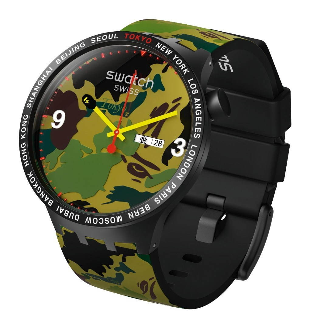 Swatch × A BATHING APE
