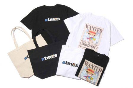 ワンピース × atmosコラボTシャツが8/9(金)に発売