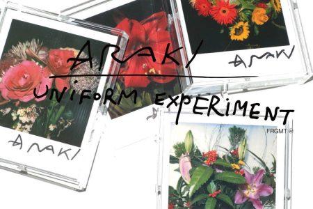 uniform experiment × 写真家アラーキーとのコラボウェア発売
