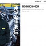 NEIGHBORHOOD 公式オンラインストア リニューアルOPEN