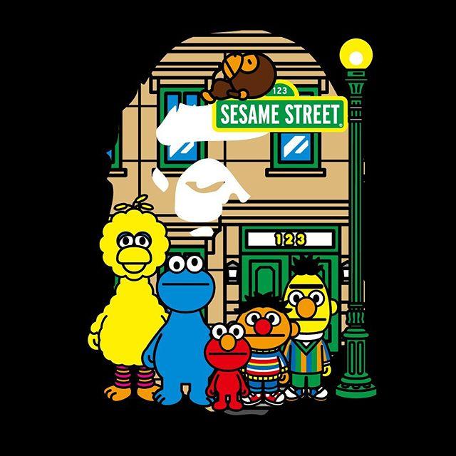 BAPE® × SESAME STREET