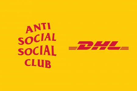 ANTI SOCIAL SOCIAL CLUB × DHL コラボアイテムが9/26日(木)発売