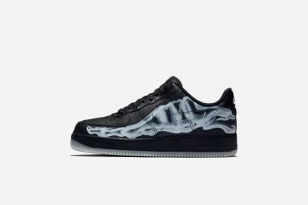 "NIKE AIR FORCE 1 ""SKELETAL BLACK"" 10/25(金)発売"