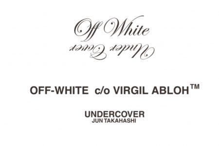 Off-White™ × UNDERCOVER コラボコレクションが9/14(土)発売