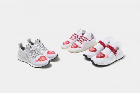 "adidas Huシリーズ × HUMAN MADE ""LOVE""PACK発売"