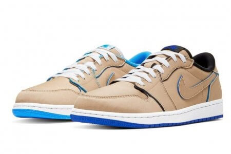 "NIKE SB × AIR JORDAN 1 LOW ""DESERT ORE"" 12/6(金)&9(月)発売"
