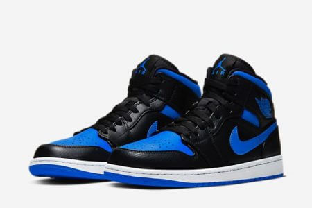 NIKE AIR JORDAN 1 MID HYPER ROYAL 2020年元旦発売
