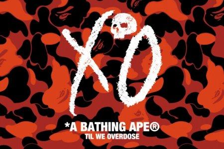 A BATHING APE® と The Weeknd コラボシリーズが1/11(土)発売