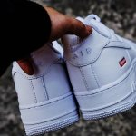 NIKE AIR FORCE 1 x SUPREME のビジュアル画像が公開
