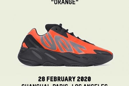 "YEEZY BOOST 700 MNVN ""ORANGE"" 2/28(金) 発売"