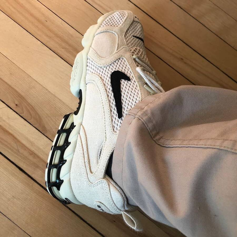 STÜSSY × NIKE AIR ZOOM SPIRIDON CAGED
