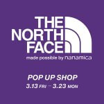 THE NORTH FACE PURPLE LABELのポップアップが開催