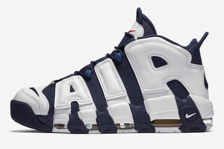 "NIKE AIR MORE UPTEMPO ""OLYMPIC"" が復刻の予感"