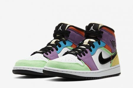 "NIKE AIR JORDAN 1 MID SE MULTI LIGHTBULB ""WMNS"" 4/9(木)発売"