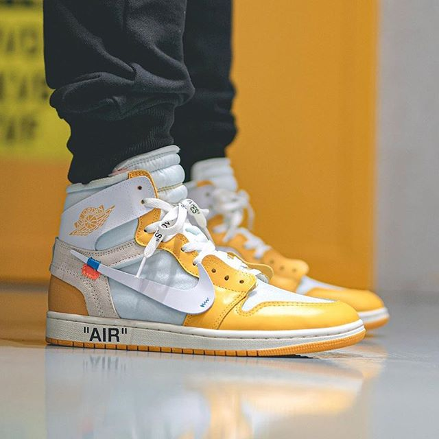 Off-White™ × NIKE AIR JORDAN 1 HIGH