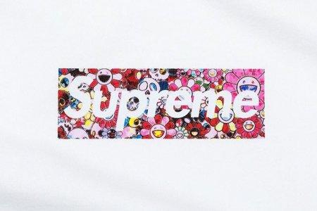 Supreme × 村上 隆によるコラボボックスTシャツが発売へ