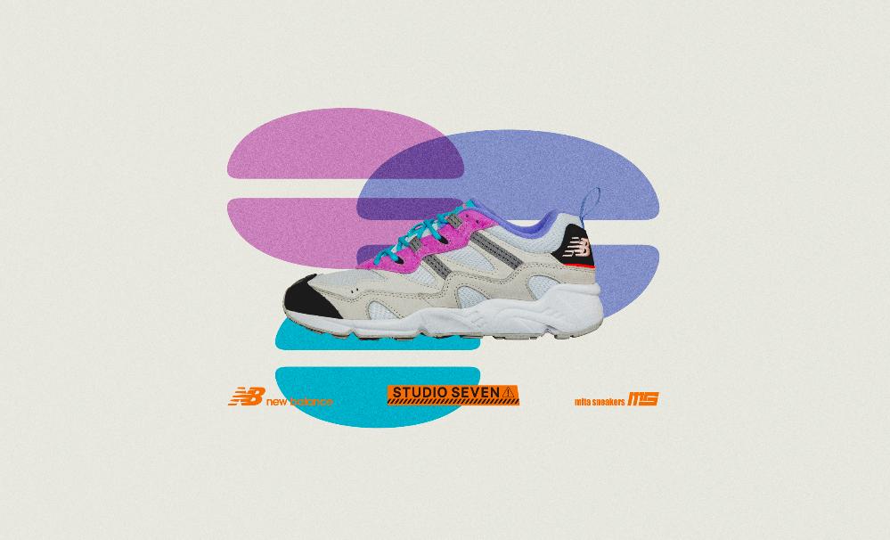 New Balance X STUDIO SEVEN X mita sneakers