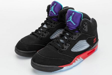 NIKE AIR JORDAN 5 FIRE RED/GRAPE 6/13(土)発売