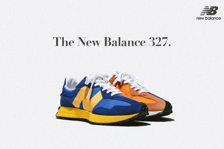 New Balanceより再構築した ニューモデル「327」が5/9(土)に発売