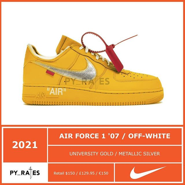 Off-White™ × NIKE AIR FORCE 1